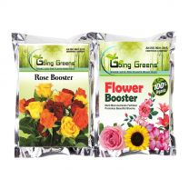 Combo of Rose Booster (900 GMS) and Flower Booster (900 GMS)