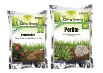 Combo of Perlite  (400 Gm) and  Vermiculite (200 Gm)
