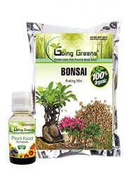 Combo of Plant Food 50ML and Bonsai Potting Mix 2Kg