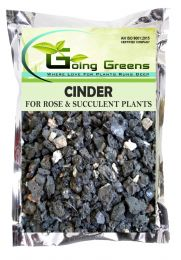 Natural & Washed Cinder for Succulents, Cactus, Roses, Bonsai and Other Plants (2-8 mm)