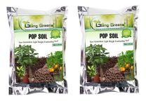 Pop Soil New Generation Light Weight Everlasting Soil/Leca Balls/Clay Aggregate Pebbles (2-8 mm) (Pack of 2 (400 Grms x 2))